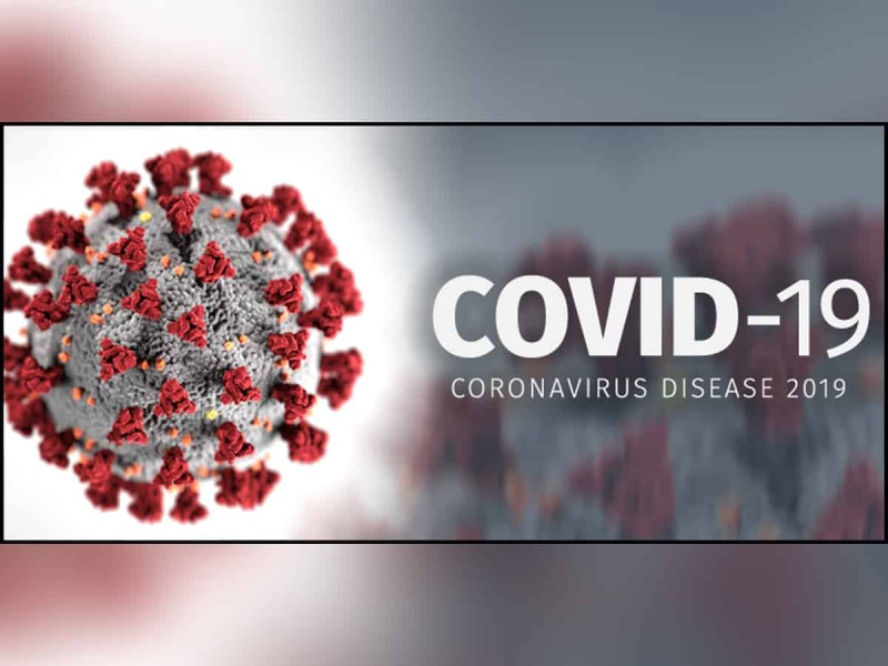 Less COVID cases: drops case rate