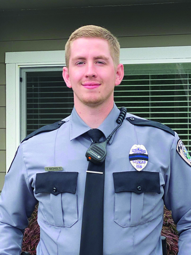 New police officer join Napavine's law enforcement