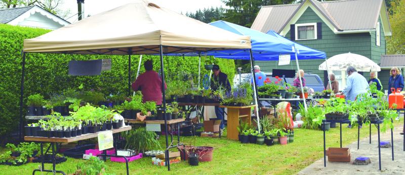 Winolequa Garden Club holds annual plant sale