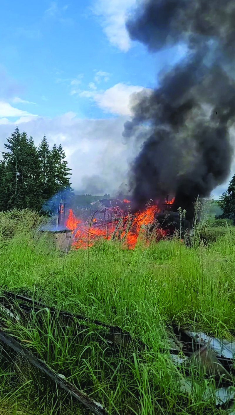 Two fires in 24 hours in Winlock
