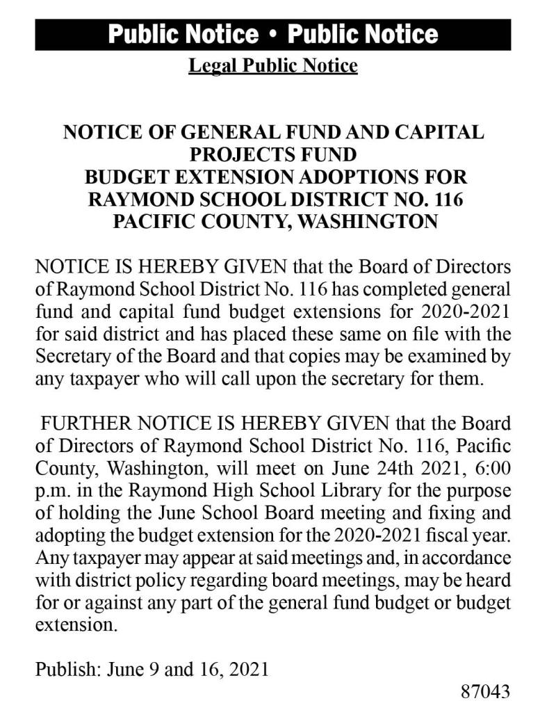 Raymond School District Meeting