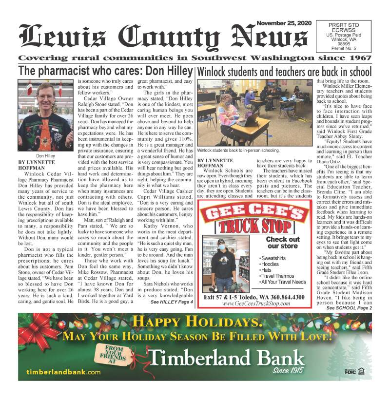November 25, 2020 Lewis County News