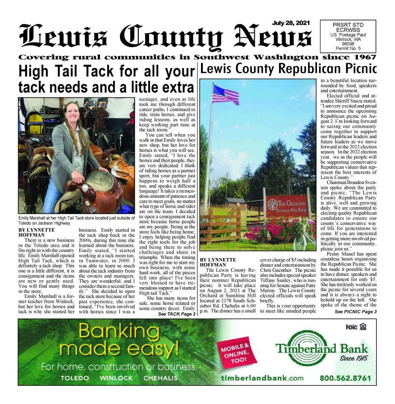July 28, 2021 Lewis County News