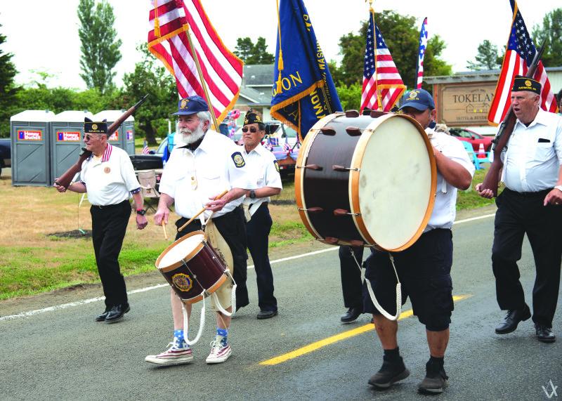 Tokeland celebrates the 4th with a parade