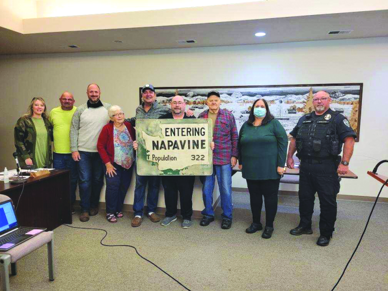 Resolution expressing freedom 2021 passed by Napavine